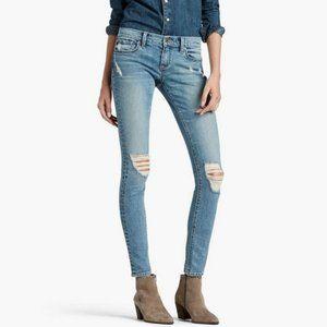 Lucky Brand Charlie Skinny Distressed Jeans